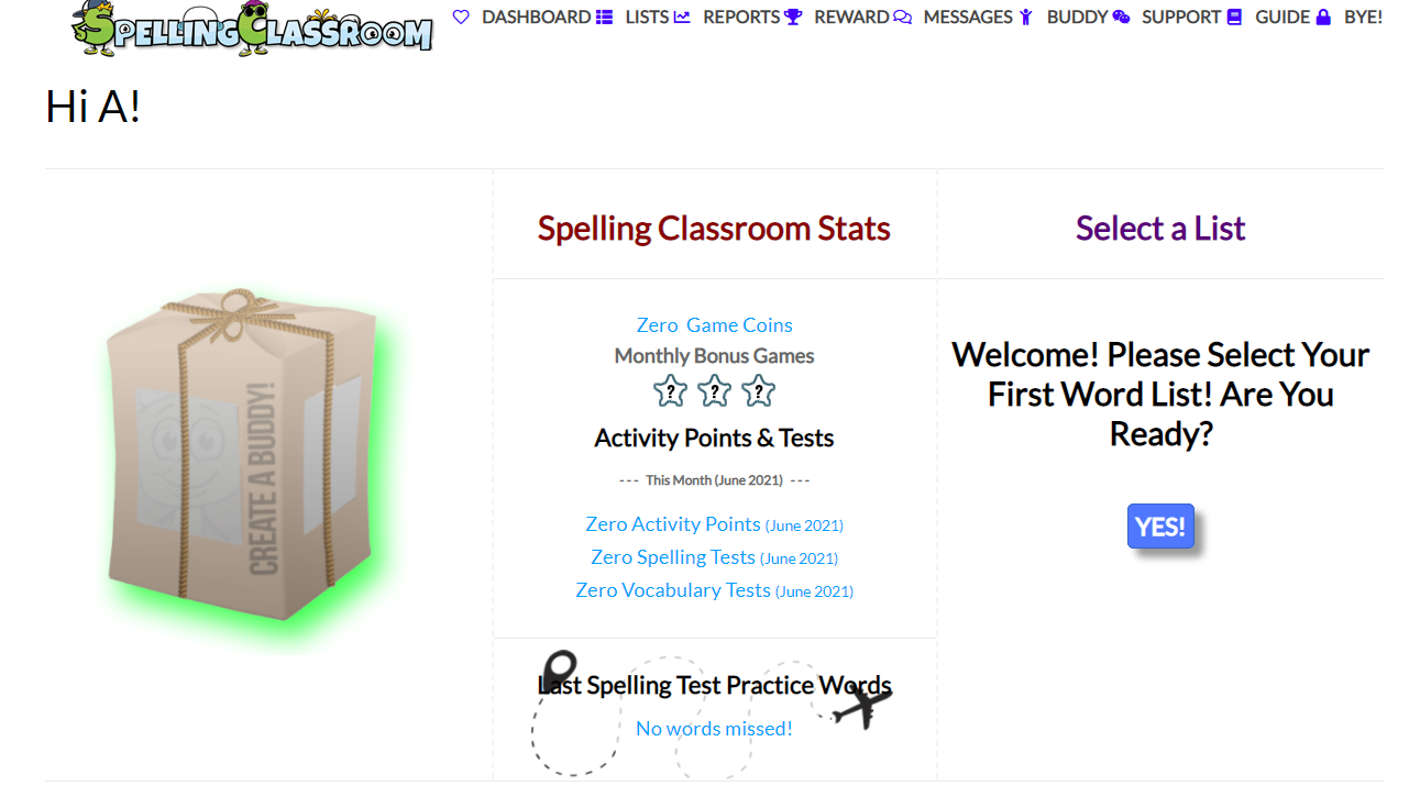 spelling classroom review